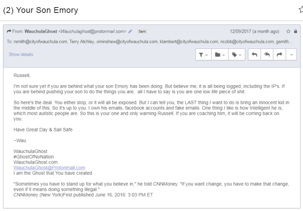 Email to Commission re Smith-Emory - Copy